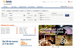 Más chollos para viajar en Spanair, con precios desde 30€ en todos sus nuevos destinos internacionales y reservando hasta 4-Abril-2010