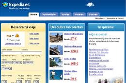 Codigo promocional Expedia para obtener 10€ de descuento en todas las reservas de hotel cuya compra mínima sea al menos 150€, válido hasta 31-Diciembre-2009