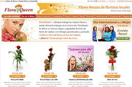 Codigo promocional FloraQueen para comprar flores con un 20% de descuento adicional gracias al especial Sant Jordi, válido hasta 22-Abril-2010