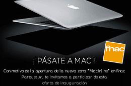 Codigos descuento y codigos promocionales en Fnac.es para tener un descuento adicional de 100€ en ordenadores Apple