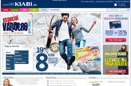 Codigo promocional Kiabi especial San Valentín con 15€ de descuento para compras superiores a 40€, válido hasta 15-Febrero-2010