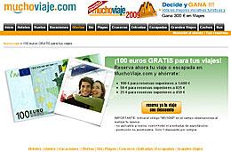 Codigo promocional MuchoViaje.com para tener hasta 100€ de descuento en vuestras reservas de viajes
