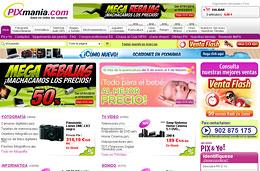 Codigo promocional Pixmania de 6€ de descuento para compras superiores a 200€ en toda la web