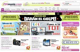 Codigos promocionales Pixmania para tener 8€ de descuento adicional en toda la web ó 20€ de descuento en la sección TV-Video, válido hasta 15-Marzo-2010
