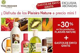 Codigo promocional Yves Rocher para Gastos de envío gratis en todos sus artículos, válido hasta 18-Enero-2010