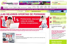 Codigos promocionales, cupones, codigos descuento y vales descuento para Pixmania.com