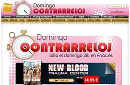 Nuevo domingo contrarreloj en Fnac con ofertas especiales y descuentos exclusivos sólo hoy 28-Marzo-2010