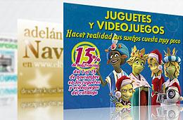 Tienda de juguetes de El Corte Ingles con ofertas para Navidad 2009 y con todo para los Reyes Magos
