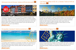 Descuentos de hoteles de hasta el 40% en las ofertas de otoño de Hotels.com para viajar a Europa, EE.UU. y Canadá