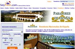 Ofertas en Paradores con precios rebajados en exclusiva a 49€ con la agencia de viajes SolyTravel, válido para reservas hasta el 22-Diciembre-2009