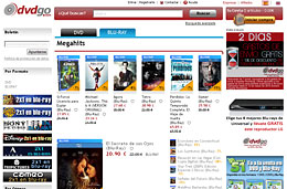 Películas rebajadas un 5% y 2 días de gastos de envío gratis para pedidos superiores a 29€ en DVDGo, válido hasta 12-Marzo-2010