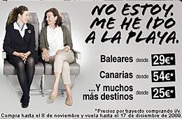 Vuelos baratos a Baleares, Canarias, España y Europa con Spanair desde 25€