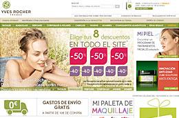 Ofertas Yves Rocher con descuentos especiales del 50% y el 40% en los 8 primeros artículos de vuestra cesta de la compra, válido hasta 2-Noviembre-2009