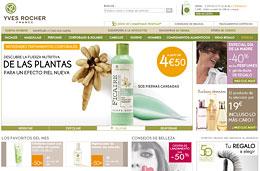 Ofertas especiales en Yves Rocher para el Día de la Madre con   descuentos de hasta el 60% en sus productos de cosmética, perfumes y   belleza