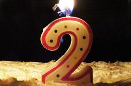 ¡Hoy día 22 de Abril cumplimos 2 años!
