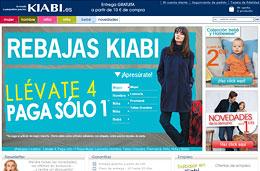 Mas rebajas en moda con la promocion 4x1 de Kiabi para ahorrar aun mas este mes de Enero