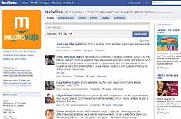 Promoción de MuchoViaje.com con el Sorteo de 300 euros para viajar con dos amigos tuyos en su página de Facebook, válido hasta 15-Enero-2010