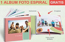 codigo descuento photobox del album de fotos espiral