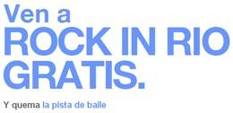 Sorteo de entradas para Rock in Rio en Barceló Viajes codigo promocional descuento oferta