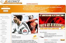 AlAlcance.com - Rebajas de hasta el 50% en videojuegos gracias a su 3er aniversario codigo promocional descuento oferta
