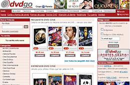 DVDGo Gastos de envío gratuítos para compras superiores de 25€ codigo promocional descuento oferta
