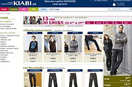 Kiabi - 3 códigos promocionales de 10€, 15€ y 20€ para compras superiores a 40€, 65€ y 80€ respectivamente descuento oferta