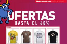 Kukuxumusu - Rebajas de hasta el 60% en su sección de oportunidades codigo promocional descuento oferta