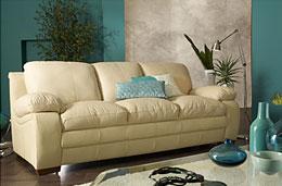 Venta-Única - Venta Flash: Super precio durante 7 días en el conjunto de sofás de piel de becerro 3+2 Budapest codigo promocional descuento oferta