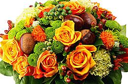 Aquarelle oferta semana bouquet de Otoño codigo promocional descuento
