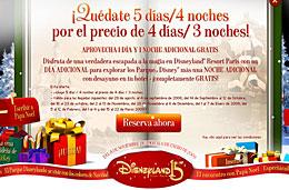 Disneyland Paris ofertas codigo promocional descuento