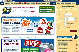 Logitravel Subastas desde 1€ codigo promocional descuento oferta