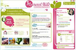 My Sweet Bio Ofertas Noviembre '08 codigo promocional descuento