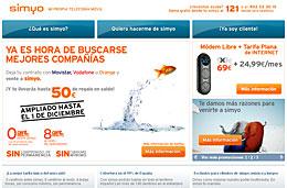 Simyo 50€ EUR gratis codigo promocional descuento
