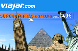 Viajar.com Super Ofertas en hoteles desde 24€ codigo promocional descuento oferta