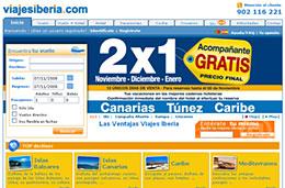 Viajes Iberia 2x1 en viajes a Canarias, Túnez y Caribe para viajar este invierno codigo promocional descuento oferta