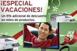 Dell - 5% de descuento adicional en todos los accesorios y electrónica durante este fin de semana codigo cupon promocional oferta