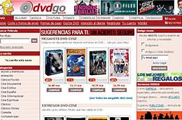 DVDGo - Código promocional de 6€ de descuento para compras superiores a 19€