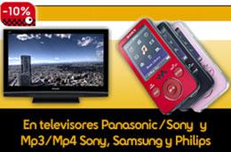 Fnac - 15 aniversario: 10% de descuento en televisores Panasonic/Sony, 10% de descuento en MP3/MP4 Sony,   Samsung y Philips e increibles descuentos adicionales para Socios
