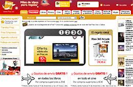 Fnac - Gastos de envío gratis en Cine y en Libros para compras superiores a 40€ y 25€  respectivamente codigo promocional oferta descuento