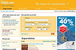 Hotels.com - Adelanto de las rebajas de Enero con descuentos de hasta el 40% en la reserva de hoteles
