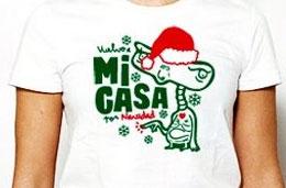 ShirtCity - 5€ de descuento en la camiseta de la semana \'Vuelve a Mi Casa por Navidad\'