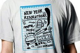 ShirtCity - 5€ de descuento en la camiseta de la semana \'New Year Resolutions\'
