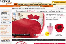 Venca - Manta y perfume gratis codigo promocional descuento