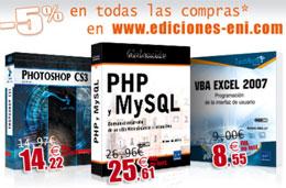 Ediciones Eni - Código promocional para obtener un 5% de descuento en su catálogo, válido hasta 31-Enero-2009