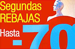 eDreams - Segundas rebajas con descuentos de hasta el 70% para volar en España y Europa del 2-Febrero al 28-Marzo, válido hasta 25-Enero-2009