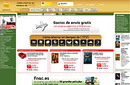 Fnac - Gastos de envío gratis en la sección de cine para compras superiores a 35€, válido hasta 5-Febrero-2009
