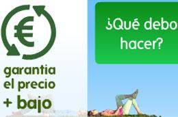 Govolo - Garantía del precio más bajo al reservar cualquier vuelo o vuelo+hotel con el reembolso de la diferencia y 20€ gratis para comprar en su web