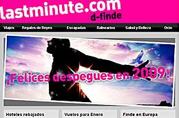 Last Minute - Ofertas especiales en viajes, vuelos y hoteles para empezar el 2009