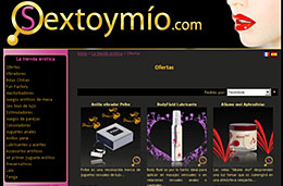 SexToymio - Código promocional 15% de descuento en toda la tienda