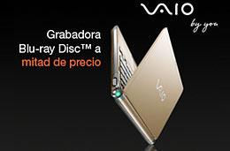 Sony - Oferta por tiempo limitado en los Sony VAIO serie TT totalmente configurables con un 50% de descuento y 200€ de ahorro en las unidades Blu-ray Disc™, válido hasta 22-Enero-2009